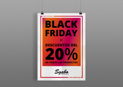 Black Friday – Sgabo