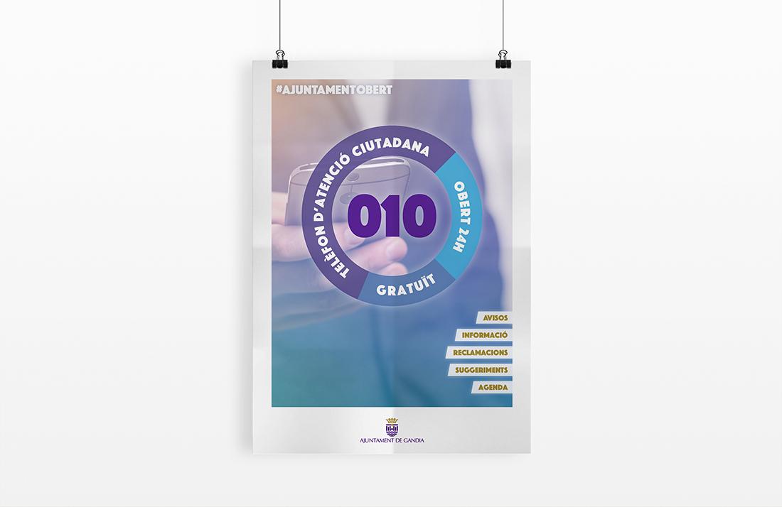 Cartell per a la campanya #Ajutamentobert